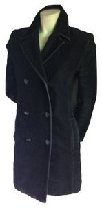 Guess Dress Jacket Suede Vegan Pea Coat