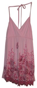 Body Central Pink with embellishments Halter Top