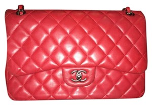 Chanel Red Messenger Bag
