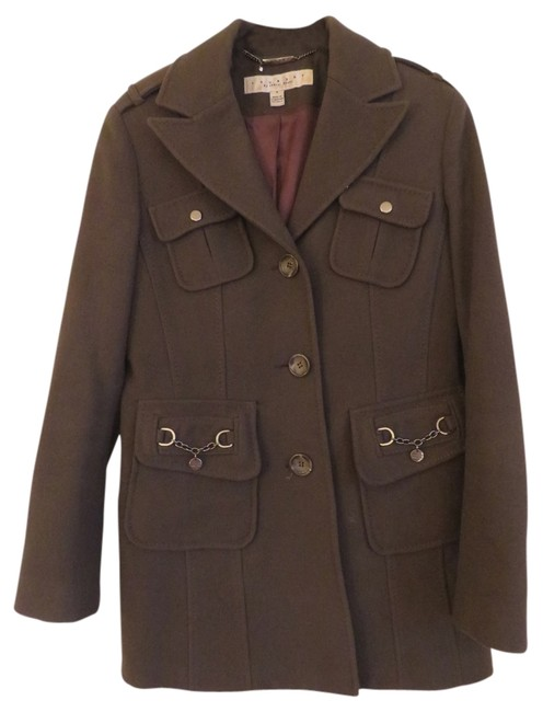 Preload https://item3.tradesy.com/images/laundry-by-shelli-segal-brown-pea-coat-size-6-s-726457-0-0.jpg?width=400&height=650