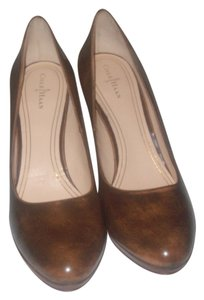 Cole Haan Walnut Brown Pumps