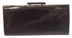 Kate Landry Dark Purple Clutch