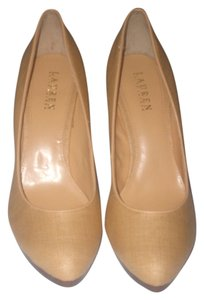 Lauren Ralph Lauren Natural Pumps