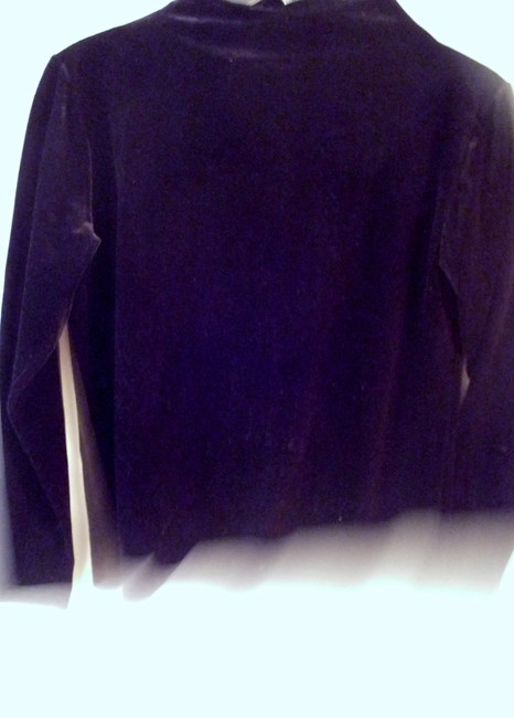 Velour by Impressions velour separates pullover jacket top pencil skirt suit resort trendy