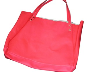 American Apparel Tote in neon pink
