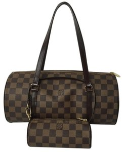 Louis Vuitton Papillon 30 Damier Speedy Shoulder Bag