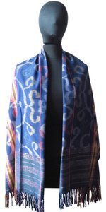Other Modern Multicolor Blue Scarf/Wrap