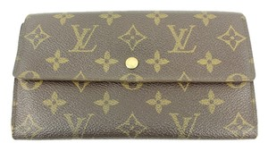 Louis Vuitton MLVSL11 Louis Vuitton Long Monogram Sarah Wallet