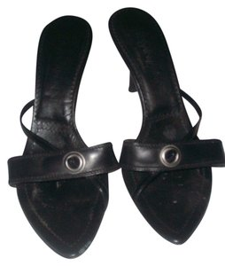 YvesStaintLaurent Black Sandals