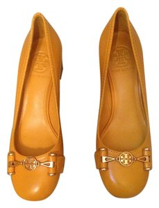 Tory Burch Cute Heels Fall Yellow Pumps