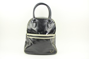 Fred Perry Satchel in Black/White