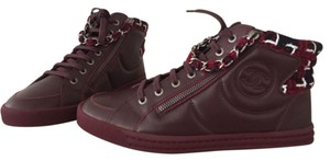Chanel Burgundy Athletic