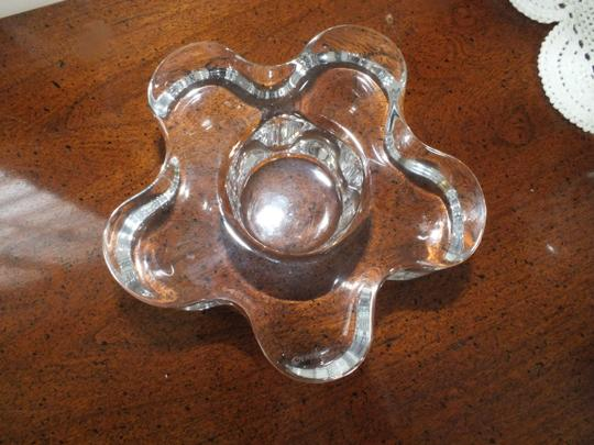 Crystal Orrefors Summertime Clear Votive Candle Holder