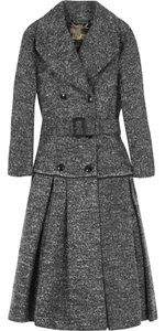 Burberry Wool Fall Winter Tweed Trench Coat