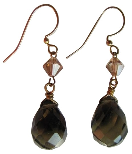 Preload https://item3.tradesy.com/images/clear-light-brown-stone-new-earrings-726827-0-0.jpg?width=440&height=440