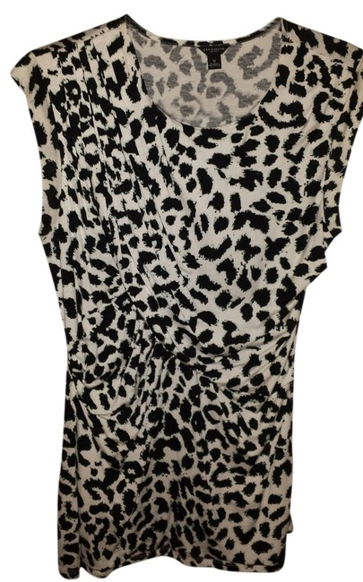 Ann Taylor Top Black/White