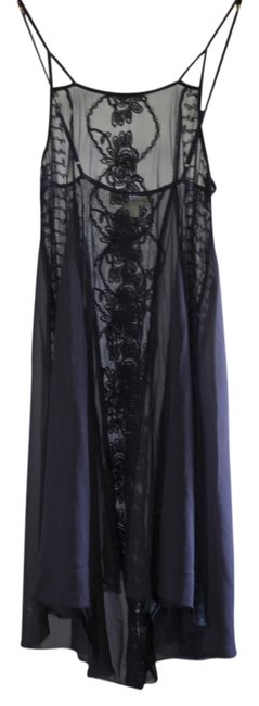 Free People Sheer Embroidered Dress