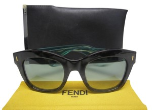 Fendi Fendi FF 0025 Block Mirrored Marbled Transparent Legs Sunglasses