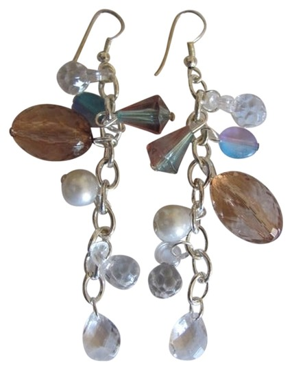 DN COLLECTION NEW ON CARD BEADS DANGLE EARRINGS