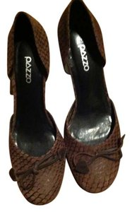 Pazzo Chocolate Brown Wedges