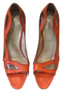 Brian Atwood Orange Pumps