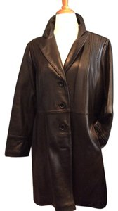 Avanti Leather Lambskin Casual Warm Coat
