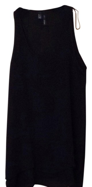 Mango Sleeveless Top Black