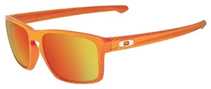 Oakley Oakley Sliver Orange/Fire Lens OO9262-16 Sunglasses