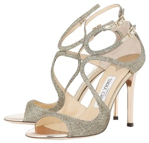 Jimmy Choo Strappy Lang light bronze Sandals