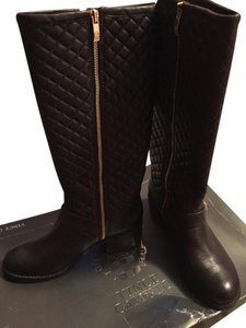 Vince Camuto Quilted brown Boots
