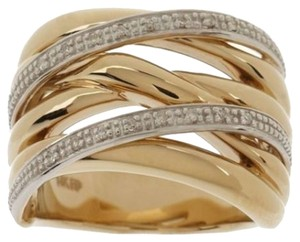Other 14K Gold & Diamond Ring ~ Size 8 ~ NWT