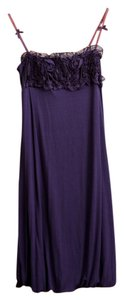 Purple Maxi Dress by Siste's Italian Viscose