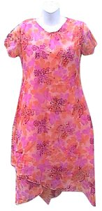 Girl Tribe short dress Orange Butterfly Design on Tradesy