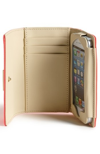 Kate Spade Jewel Street Iphone Wristlet in Gold