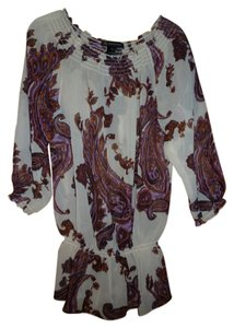 INC International Concepts Paisley Tunic