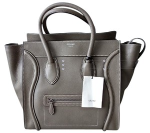Celine Tote in Souris- Gray