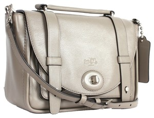 Coach Bleeker grey Messenger Bag