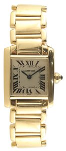 Cartier Cartier 18K YG Tank Francaise Mini Ladies Watch W50002N2