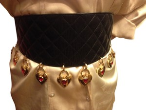 Chanel Chanel Runaway Vintage Leather Heart Belt