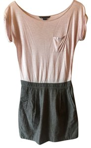 A|X Armani Exchange short dress Pink top and grey bottom on Tradesy