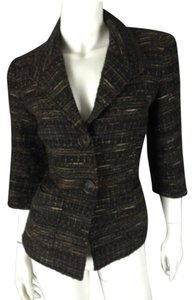 Lafayette 148 New York Tweed Tweed Blazer Coat Jacket