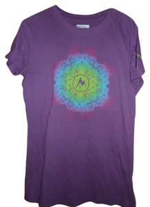 Marmot T Shirt Purple
