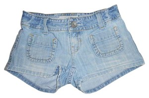 Aeropostale Mini Juniors Denim Shorts-Medium Wash