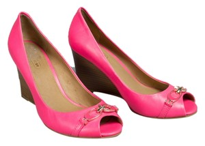 Coach Hot Pink Pumps