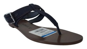 Burberry Kington Vibrant Shoe Sandal Dark Indigo Sandals