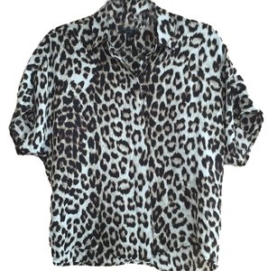 Rag & Bone Top Animal print