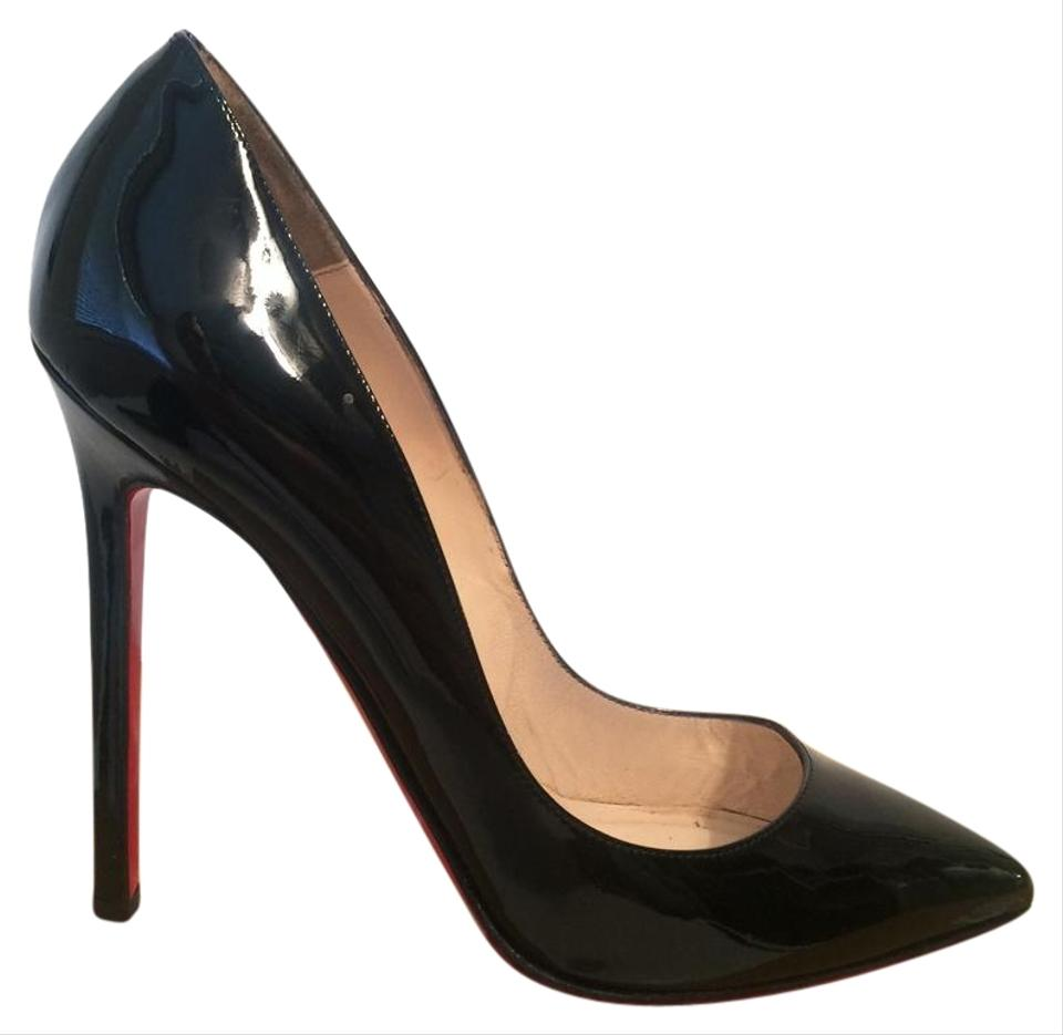 e1d857e410f Christian Louboutin Black Pigalle 120 Patent Leather Eu 36 Pumps. Size  US 6  ...