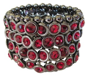 OTHER GUNMETAL RED STONES