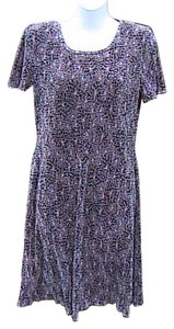 Dress Barn short dress Printed Short Sleeve on Tradesy