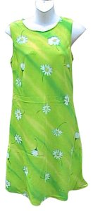 My Michelle short dress Green Floral Summer on Tradesy
